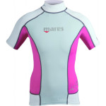Mares Rash Guard Short Sleeve She Dives 1
